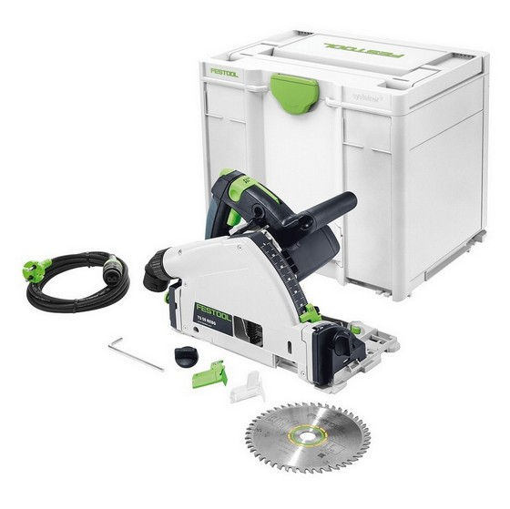 Image of FESTOOL 561554 TS55 REQPLUS GB PLUNGE SAW 110V NO RAIL