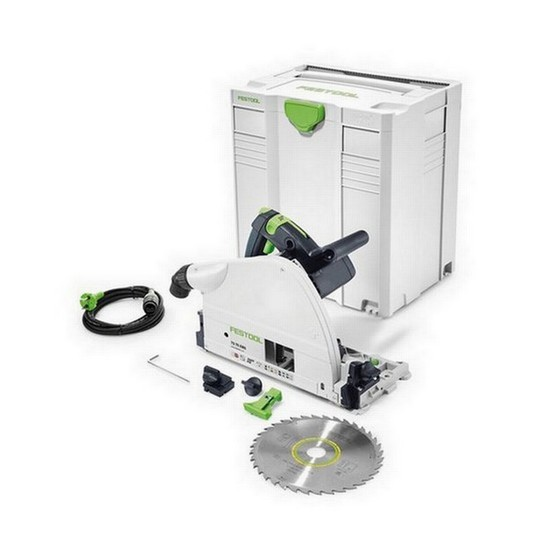 Image of FESTOOL 561439 TS75 EBQPLUS GB CIRCULAR SAW 110V NO RAIL