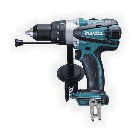 Image of MAKITA DHP458Z 18V COMBI HAMMER DRILL BODY ONLY
