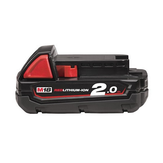 MILWAUKEE M18B2 18V 2.0ah RED Li-ion BATTERIES