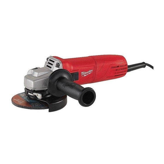 MILWAUKEE AG10-115 115mm HEAY DUTY ANGLE GRINDER 240V