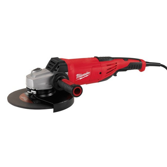 Image of Milwaukee Agv22230e Heavy Duty 230mm Angle Grinder 110v