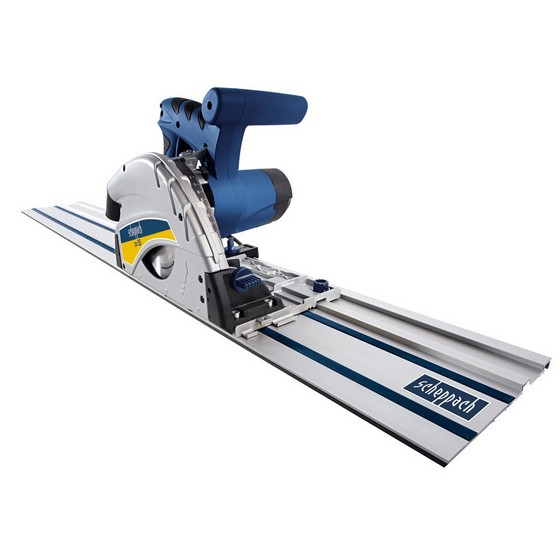 SCHEPPACH PL55 160MM PLUNGE SAW 240V WITH 1.4M GUIDE RAIL