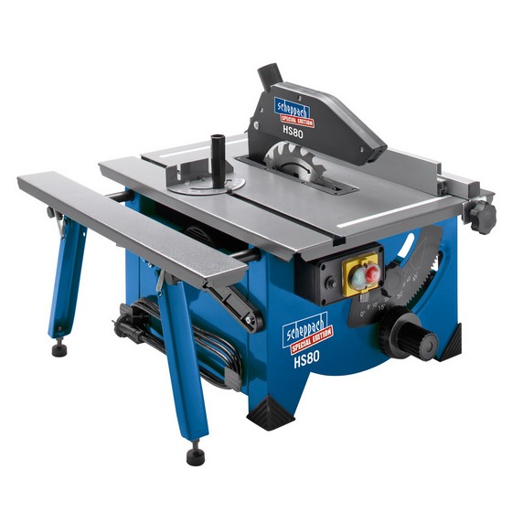 SCHEPPACH HS80 200MM PORTABLE TABLE SAW 240V