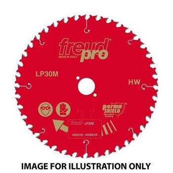FREUD LP30M 025 PRO TCT CIRCULAR SAW SAW BLADE 250mm X 30mm X 40 TOOTH