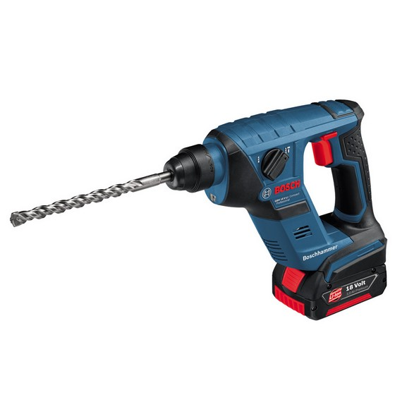 BOSCH GBH18VLI-CPS COMPACT SDS-PLUS DRILL WITH 1 x 4.0ah Li-ion BATTERY IN L-BOXX