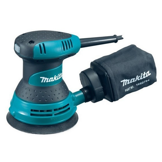 Image of MAKITA BO5030 125MM ORBITAL SANDER 240V