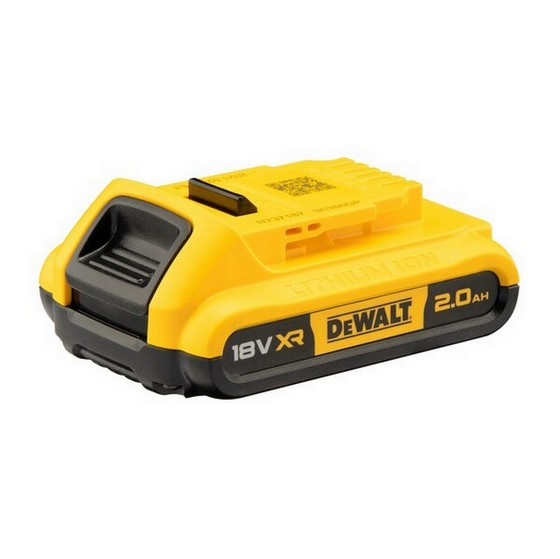 DEWALT DCB182 18 VOLT 40AH XR LITHIUM ION BATTERY TWIN PACK