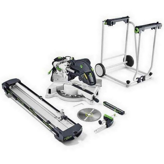 Image of FESTOOL 561417 KS120UGSETGB KAPEX SLIDE COMPOUND MITRE SAW 240V