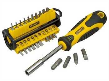 STANLEY STA070885 35 PIECE SCREWDRIVER & BIT SET