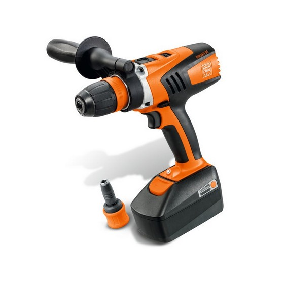 Fein ASCM18QX 18V HIGH TORQUE DRILL DRIVER  2 x 4.0ah Li-ion BATTERIES & QUICK CHANGE CHUCK