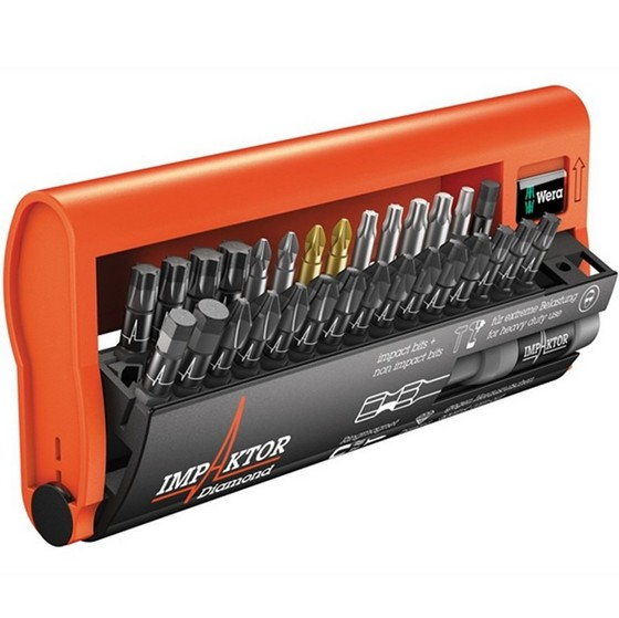 Wera WER057690 30 Piece Impaktor Bit-Check Screwdriver Set