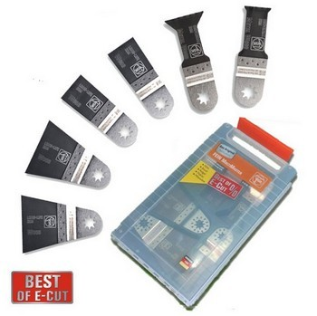 FEIN 63502152150 BEST OF E-CUT 6 PIECE BLADE SET (WORTH OVER £65)