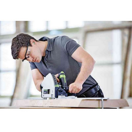 FESTOOL 561554 TS55REBQ 160MM PLUNGE SAW 110V WITH 1.4M GUIDE RAIL