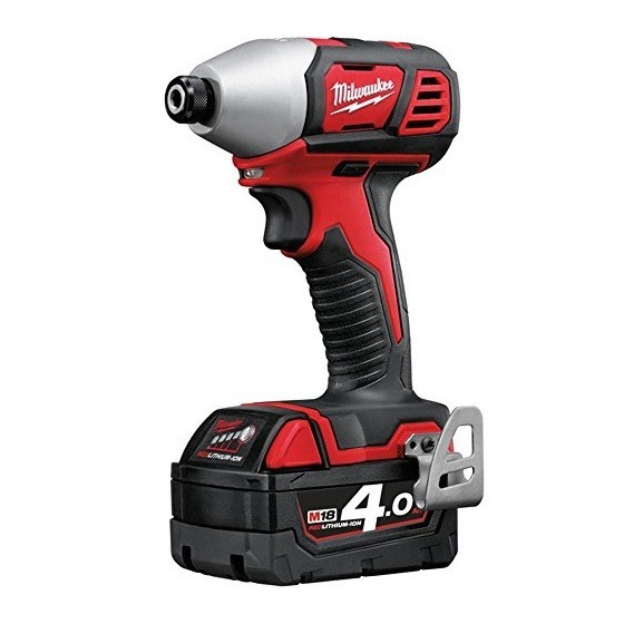 Milwaukee M18BID-202C M18 18V Compact Impact Driver With 2x2.0ah Red Li-ion Batteries
