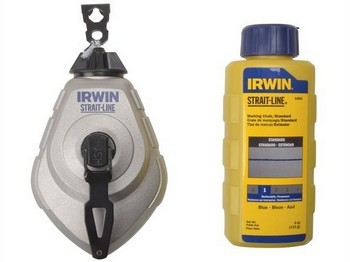 Irwin Straitline STL10507684 Heavy Duty Chalk And Reel 30 Metre