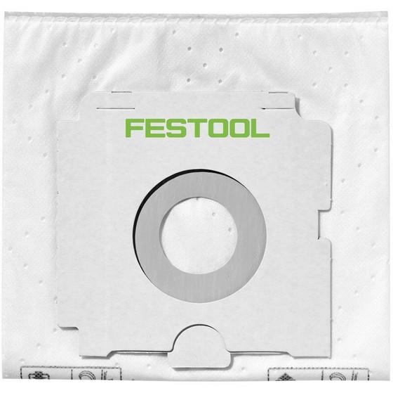 Image of FESTOOL 496186 SCFISCT665 PACK OF 5 SELFCLEAN FILTER BAGS FITS CTCTLCTM36