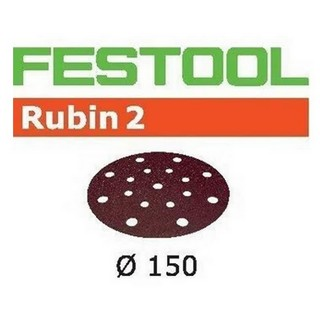 FESTOOL 499115 PACK OF 10 SANDING DISCS STF D150/16 P180 RU2/10