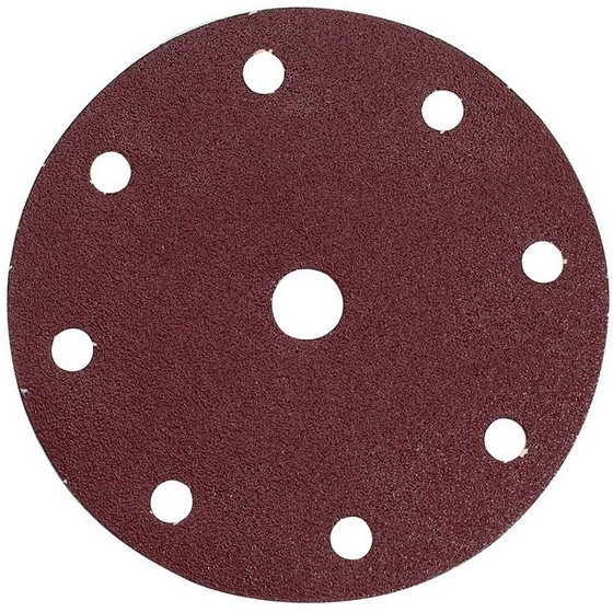 MAKITA P-37487 PUNCHED ORBITAL SANDING DISCS 60 GRIT 150MM (PACK OF 10)