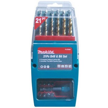 MAKITA P-57087 21 PIECE DRILL AND DRIVER SET
