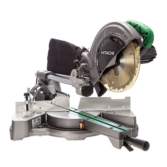 Image of HITACHI C8FSE 216MM SLIDE COMPOUND MITRE SAW 240V