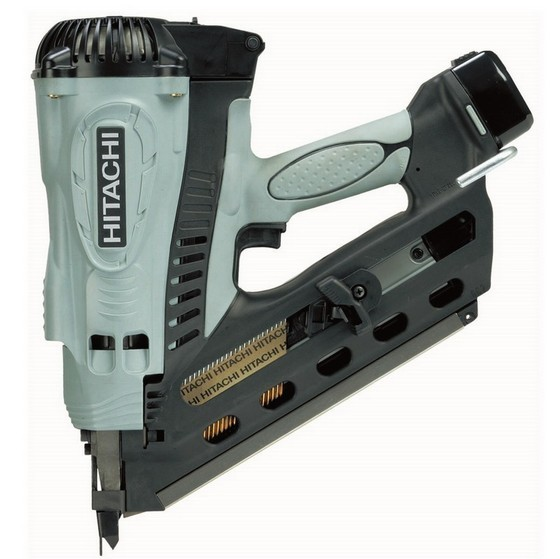 Image of HITACHI NR90GC2 72V 1ST FIX NAILER 2X LIION BATTERIES