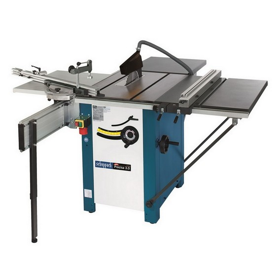 SCHEPPACH PRECISA 3.0 280MM PRECISION CAST IRON WORKSHOP TABLE SAW PACKAGE 240V
