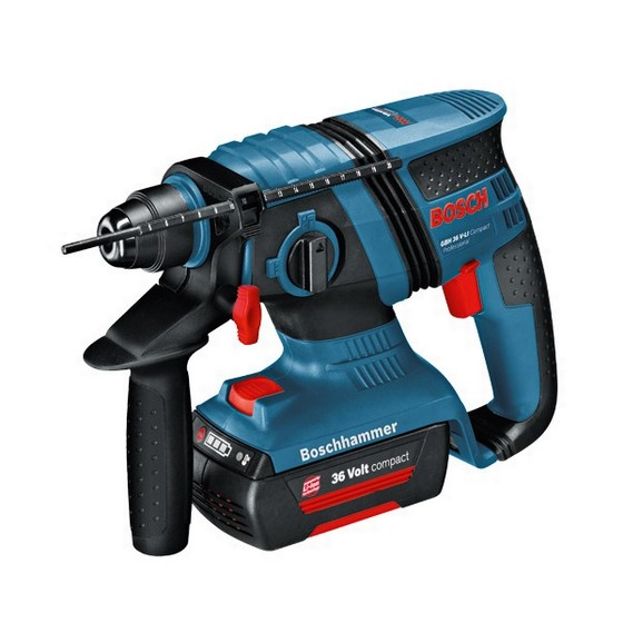 BOSCH GBH36V-FLI 36V SDS HAMMER DRILL WITH 3x4.0AH LI-ION BATTERIES