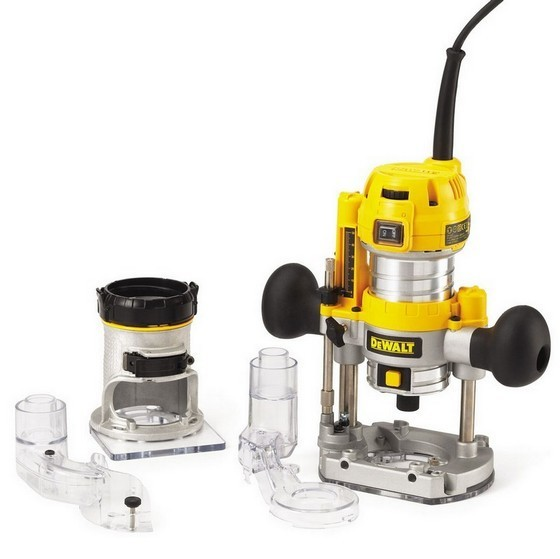 Image of DEWALT D26204KLX 14IN COMBINATION PLUNGE AND FIXED BASE ROUTER 110V