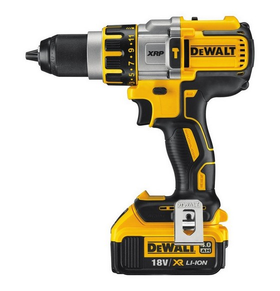 DEWALT DCD995M2 18V BRUSHLESS COMBI HAMMER DRILL WITH 2x 4.0AH LI-ION BATTERIES