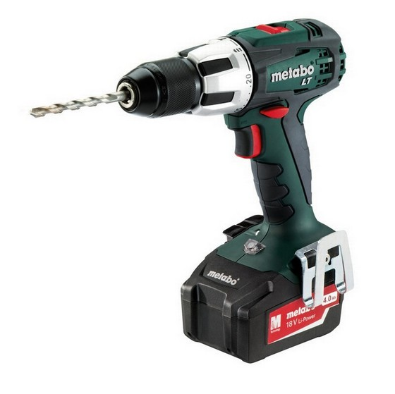 METABO SB18LT 18V COMBI HAMMER DRILL WITH 2X 1.5AH LI-ION BATTERIES