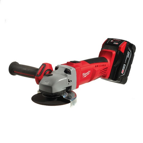 MILWAUKEE HD28AG-32C 28V ANGLE GRINDER WITH 2X3.0AH LI-ION BATTERIES