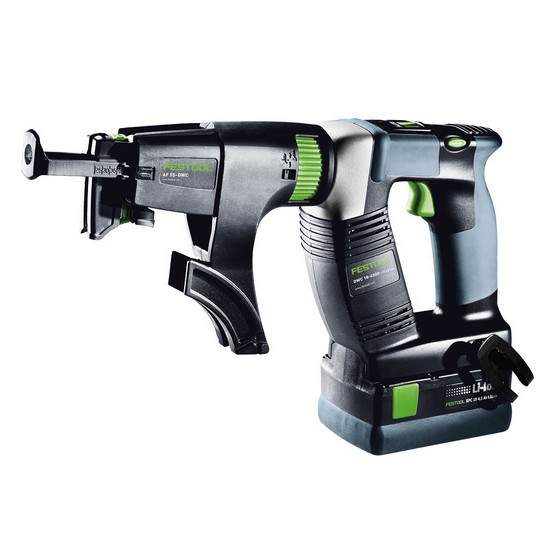Festool 769205 DWC18-4500 LI 4,2 SET GB 18V Drywall Screwdriver With 2x4.2ah Li-ion Batteries Supplie3d in Systainer Case
