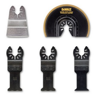 DEWALT DT20715-QZ BLADE SET FOR WOOD, WOOD WITH NAILS, DRYWALL AND PVC