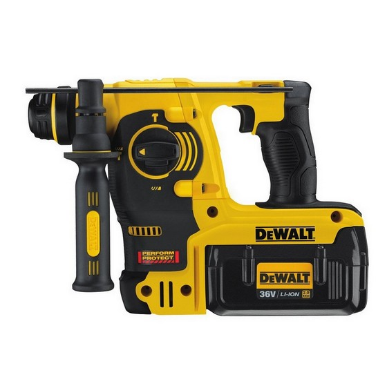 DEWALT DCH363D2 36V SDS ROTARY HAMMER DRILL 2 X 20AH LIION BATTERIES