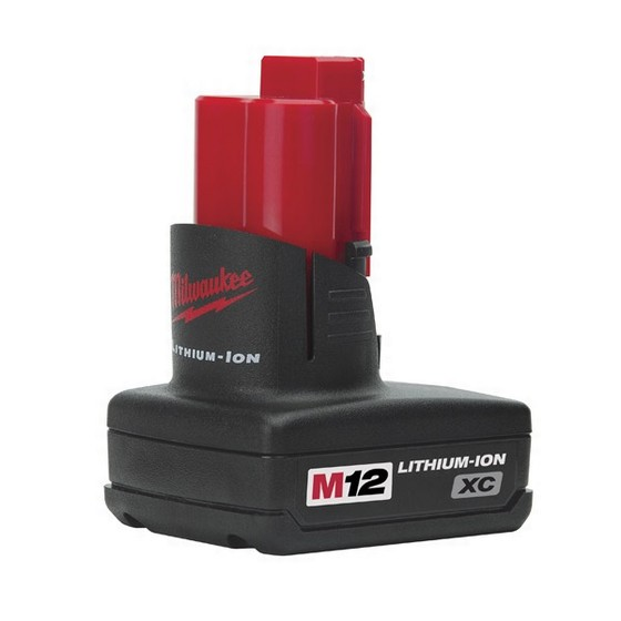 MILWAUKEE M12B3 12V 3.0AH RED LITHIUM-ION BATTERY
