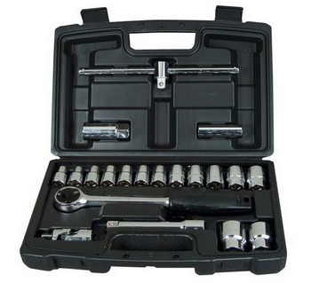Image of STANLEY STA194650 20 PIECE 12IN SOCKET SET