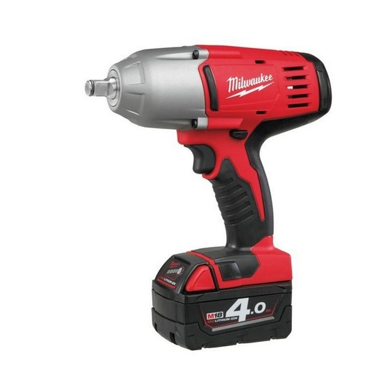MILWAUKEE HD18HIWF-402C 18V IMPACT WRENCH (Friction Ring Fitting) 2 x 4.0ah Li-ion BATTERIES