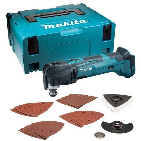 Image of Makita Dtm51zjx7 18v Quick Change Multi Tool Body Only