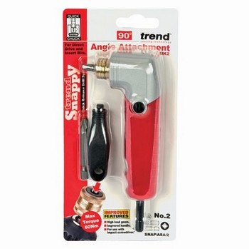 Image of Trend Snapasa2 Snappy Angle Screwdriver Drill Attachment