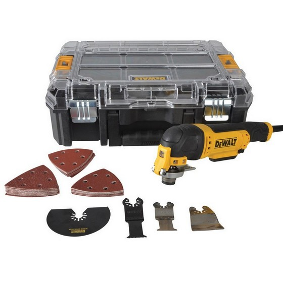 DEWALT DWE314 MULTI TOOL WITH ACCESSORIES