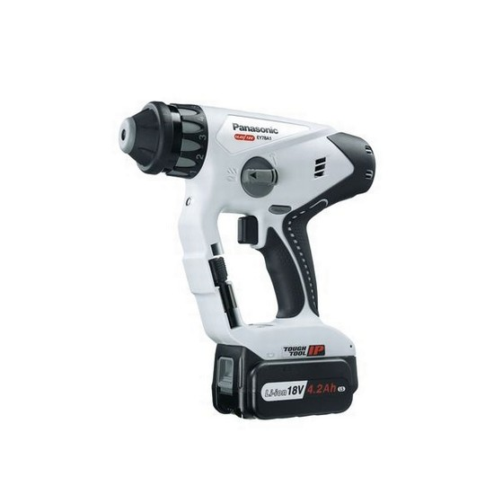PANASONIC 18v DUAL VOLTAGE SDS HAMMER DRILL DRIVER 2 X 18V 4.2ah Li-ion BATTERIES