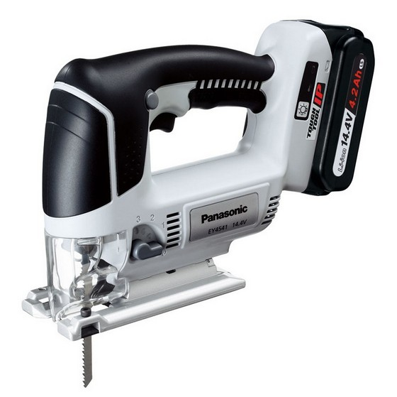 PANASONIC EY4541LS1S31 14.4V CORDLESS JIGSAW WITH 1x 4.2AH LI-ION BATTERIES