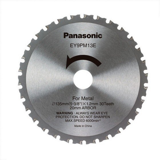 Anglia Tool Centre PANASONIC 135mm BLADE FOR 144v  156v Saw Standard
