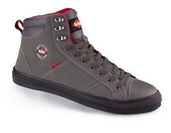 Image of LEE COOPER LCSHOE022 SAFETY BOOT GREY Size 10