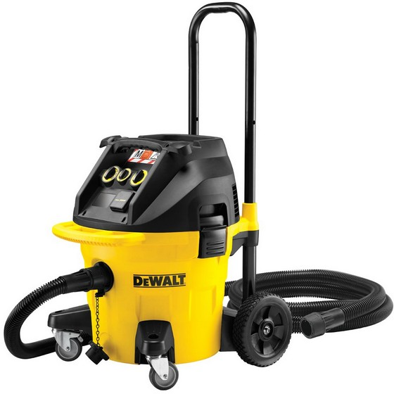 Image of DEWALT DWV902M 240V M CLASS CONSTRUCTION DUST EXTRACTOR