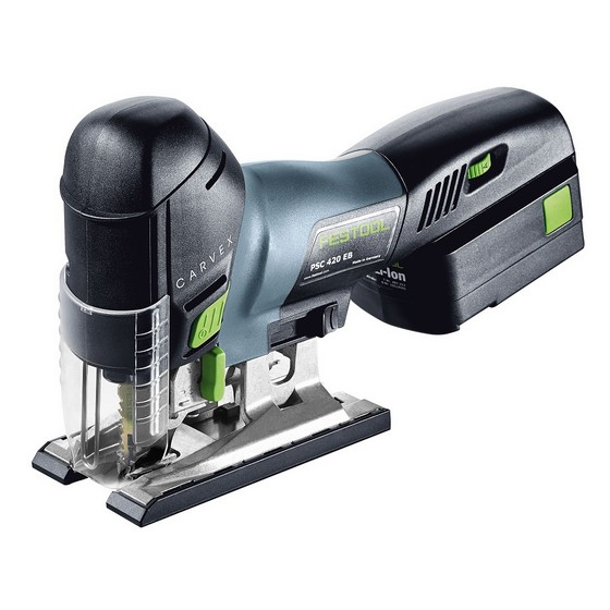 Image of FESTOOL 561666 PSC420 18V JIGSAW WITH 1X40AH LIION BATTERY