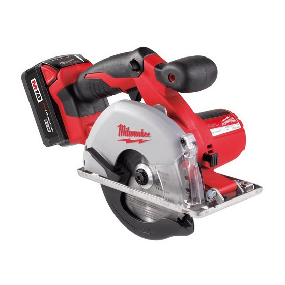 MILWAUKEE HD18MS-32 18V METAL SAW WITH 2 X 3.0AH BATTERIES