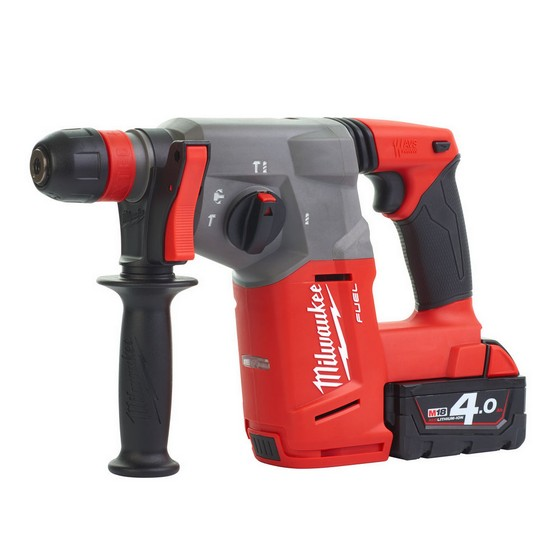 MILWAUKEE M18CHX-402 18V BRUSHLESS SDS HAMMER DRILL WITH 2X 4.0AH LI-ION BATTERIES