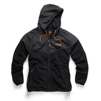SCRUFFS ACTIVE ZIP THRU HOODED FLEECE